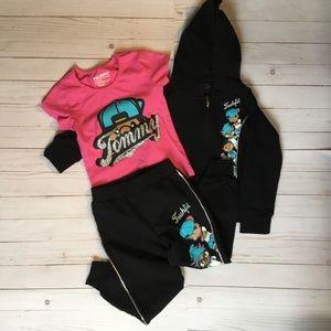 Trukfit NWOT sweats set size 5 girls